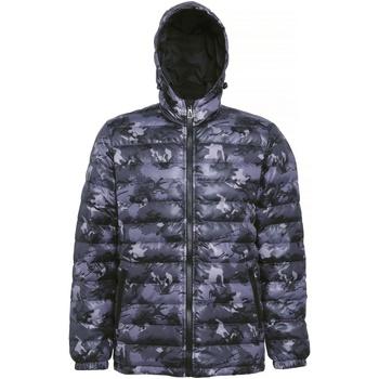 vaatteet Miehet Toppatakki 2786 TS016 Camo Grey