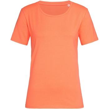 vaatteet Naiset Lyhythihainen t-paita Stedman  Salmon Pink
