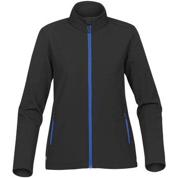 vaatteet Naiset Pusakka Stormtech KSB-1W Black/ Azure Blue