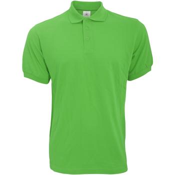 vaatteet Miehet Lyhythihainen poolopaita B And C PU409 Real Green