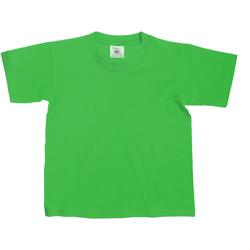 vaatteet Lapset Lyhythihainen t-paita B And C Exact Kelly Green