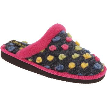 kengät Naiset Tossut Sleepers Donna Fuchsia/Multi