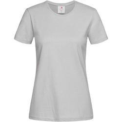 vaatteet Naiset Lyhythihainen t-paita Stedman  Soft Grey