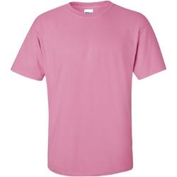 vaatteet Miehet Lyhythihainen t-paita Gildan Ultra Azalea