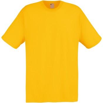 vaatteet Miehet Lyhythihainen t-paita Universal Textiles 61082 Gold