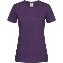 vaatteet Naiset Lyhythihainen t-paita Stedman  Deep Berry