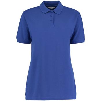 vaatteet Naiset Lyhythihainen poolopaita Kustom Kit Klassic Royal Blue