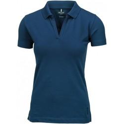 vaatteet Naiset Lyhythihainen poolopaita Nimbus Harvard Indigo Blue