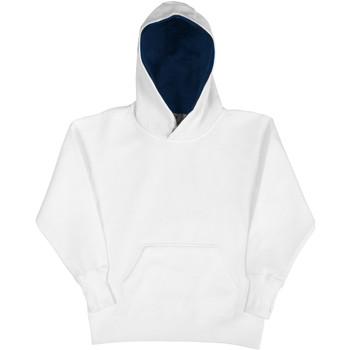 vaatteet Lapset Svetari Sg SG24K White/Navy