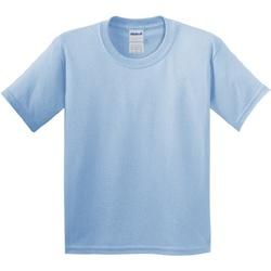 vaatteet Lapset Lyhythihainen t-paita Gildan 64000B Light Blue
