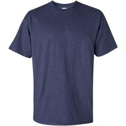 vaatteet Miehet Lyhythihainen t-paita Gildan Ultra Heather Navy