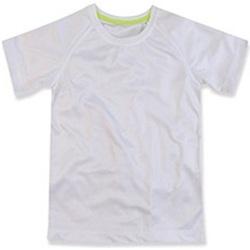 vaatteet Lapset Lyhythihainen t-paita Stedman  White