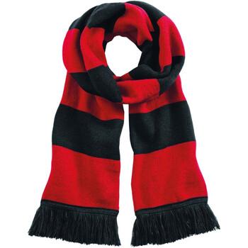 Asusteet / tarvikkeet Huivit Beechfield B479 Black / Classic Red