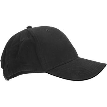 Asusteet / tarvikkeet Lippalakit Beechfield B20 Graphite Grey/Black