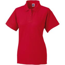 vaatteet Naiset Lyhythihainen poolopaita Jerzees Colours 539F Classic Red