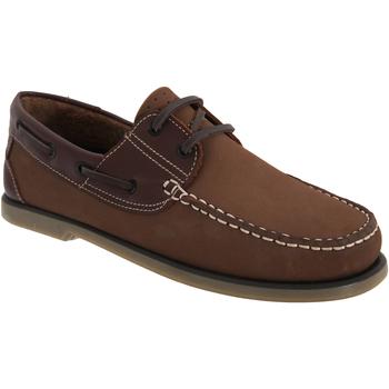 kengät Miehet Purjehduskengät Dek  BrownNubuck/Leather