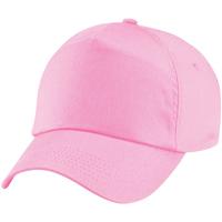 Asusteet / tarvikkeet Lapset Lippalakit Beechfield BC10B Classic Pink