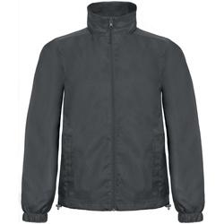 vaatteet Miehet Tuulitakit B And C ID.601 Dark Grey