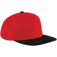 Asusteet / tarvikkeet Lippalakit Beechfield B660 Classic Red/Black