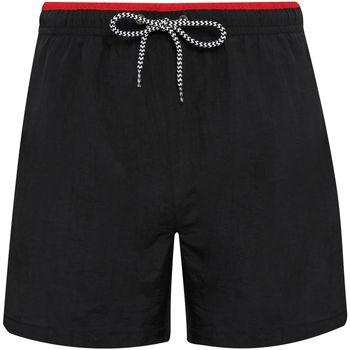 vaatteet Miehet Uima-asut / Uimashortsit Asquith & Fox AQ053 Black/Red