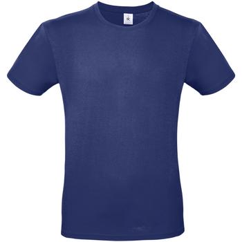 vaatteet Miehet Lyhythihainen t-paita B And C TU01T Electric Blue