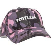 Asusteet / tarvikkeet Naiset Lippalakit Scotland  Pink Camouflage