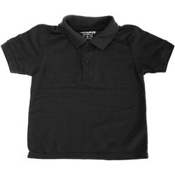 vaatteet Lapset Lyhythihainen poolopaita Gildan 72800B Black