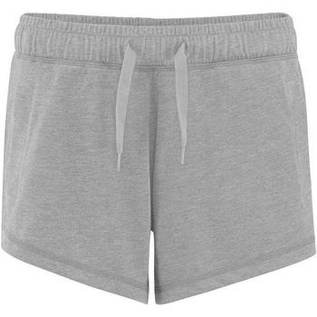 vaatteet Naiset Shortsit / Bermuda-shortsit Comfy Co CC055 Heather Grey