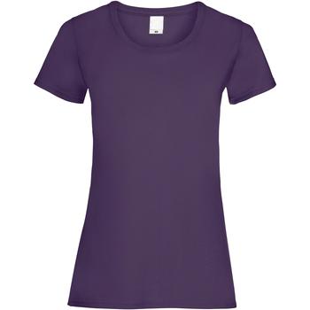 vaatteet Naiset Lyhythihainen t-paita Universal Textiles 61372 Grape