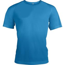 vaatteet Miehet Lyhythihainen t-paita Kariban Proact PA438 Aqua