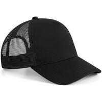 Asusteet / tarvikkeet Lippalakit Beechfield B642 Black