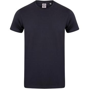 vaatteet Lapset Lyhythihainen t-paita Skinni Fit SM121 Navy