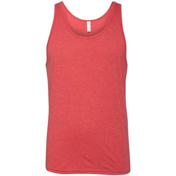 vaatteet Naiset Hihattomat paidat / Hihattomat t-paidat Bella + Canvas CA3480 Red Triblend