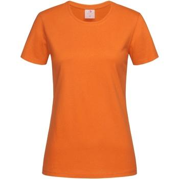 vaatteet Naiset Lyhythihainen t-paita Stedman  Orange