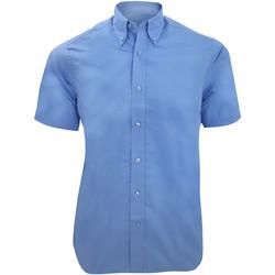 vaatteet Miehet Lyhythihainen paitapusero Kustom Kit KK385 Light Blue