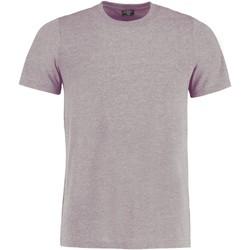 vaatteet Lyhythihainen t-paita Kustom Kit KK504 Light Grey Marl