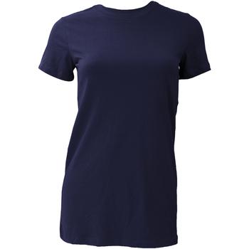 vaatteet Naiset Lyhythihainen t-paita Bella + Canvas BE6004 Navy Blue