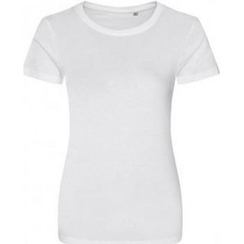 vaatteet Naiset Lyhythihainen t-paita Ecologie EA01F Arctic White