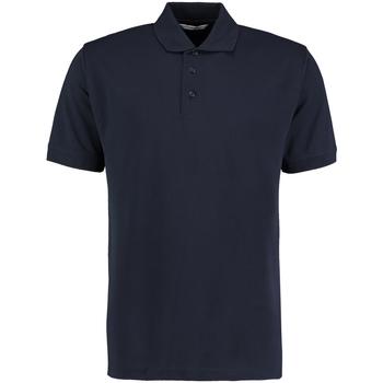 vaatteet Miehet Lyhythihainen poolopaita Kustom Kit KK403 Navy Blue