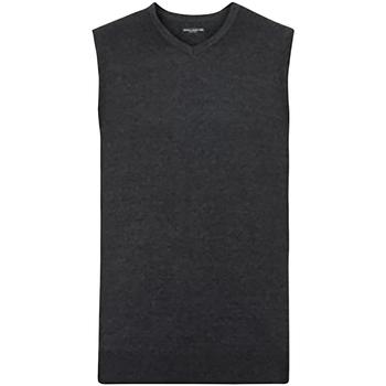 vaatteet Miehet Neuleet / Villatakit Russell 716M Charcoal Marl