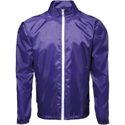 vaatteet Miehet Tuulitakit 2786 TS011 Purple/ White