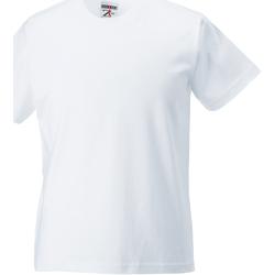vaatteet Lapset Lyhythihainen t-paita Jerzees Schoolgear ZT180B White