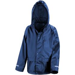 vaatteet Lapset Tuulitakit Result R227J Navy Blue