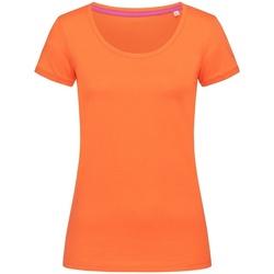vaatteet Naiset Lyhythihainen t-paita Stedman Stars  Pumpkin