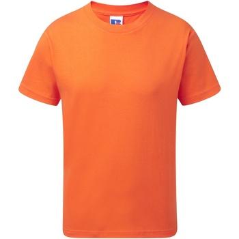 vaatteet Lapset Lyhythihainen t-paita Jerzees Schoolgear J155B Orange
