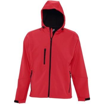 vaatteet Miehet Tuulitakit Sols 46602 Pepper Red