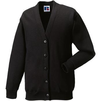 vaatteet Lapset Neuleet / Villatakit Jerzees Schoolgear 273B Black