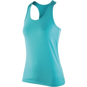 vaatteet Naiset Hihattomat paidat / Hihattomat t-paidat Spiro S281F Peppermint