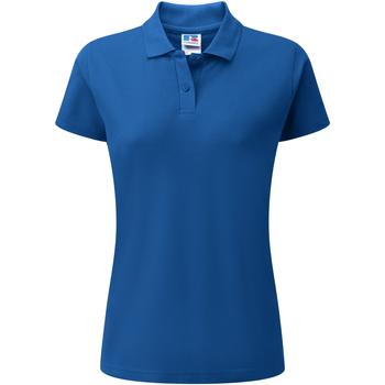 vaatteet Naiset Lyhythihainen poolopaita Jerzees Colours 539F Bright Royal
