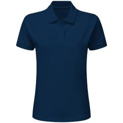 vaatteet Pojat Lyhythihainen poolopaita Sg SG59K Navy Blue